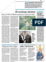 Erdis, Brincivalli nominato Direttore - Il Resto del Carlino del 29 settembre 2017