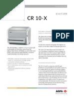 CR 10-X (English - Datasheet)