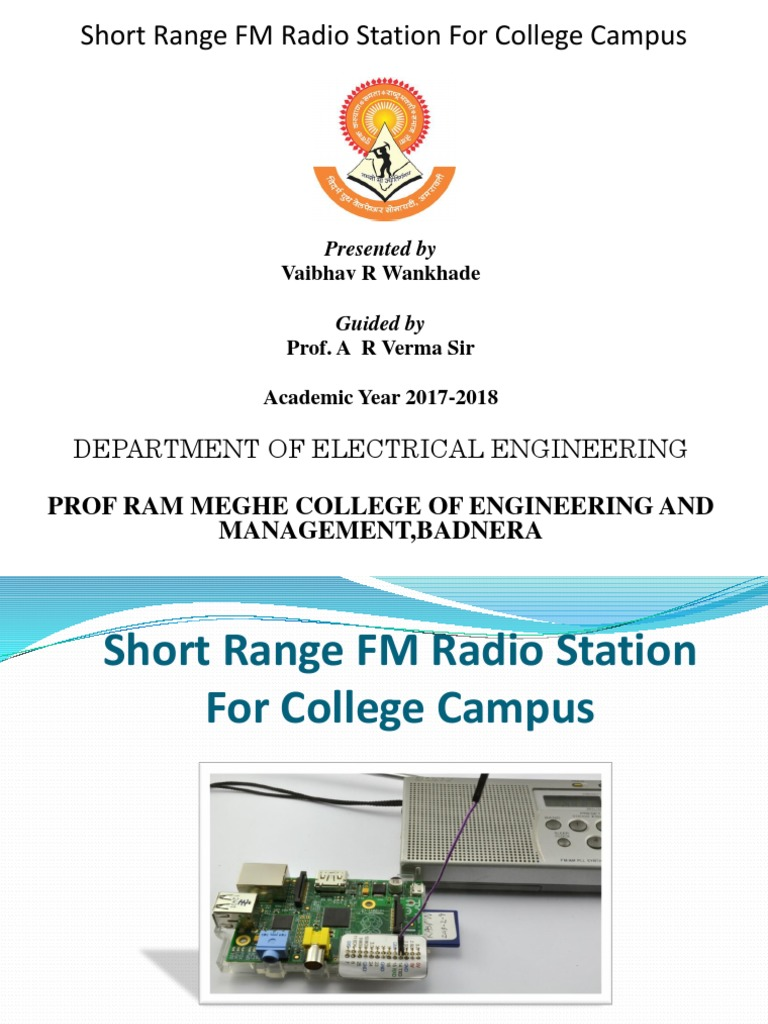 Electrical And Electronics Engineering Seminar Topic Short Range Frequency Modulationfm Amplifiercircuit Circuit Diagram Fm Radio Station For College Campus Modulation Transmitter
