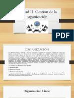 Unidad 2 Gestión de La Organización