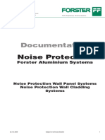 Documentation Noise Protection