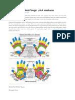 Manfaat Pijat Refleksi Tangan Untuk Kesehatan