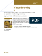 Safe Use of Woodworking