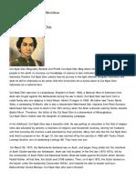 Biografi Cut Nyak Din Versi Bahasa Inggris ( Cut Nyak Dien Biography English Language Version ) _ History of Indonesia Country