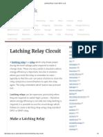 Latching Relay Circuit _ REUK.co