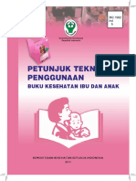 Petunjuk Teknis Penggunaan Buku Kesehatan Ibu Dan Anak 2015