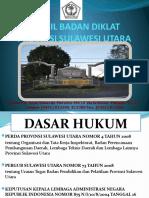 PROFIL BADAN DIKLAT PROV. SULUT 2010