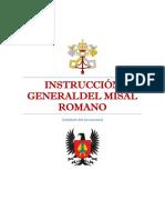 Instrucción General Del Misal Romano