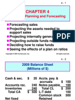 Financial Planing & Forecasting