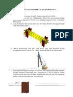 Metode Sheet Pile