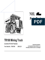 TR100 Parts Manual T6001009 Up