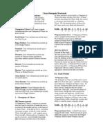 Plunder-Renegade Warband List