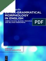 (Topics in English Linguistics 82) Elisa Mattiello-Extra-grammatical Morphology in English-Mouton de Gruyter (2013)