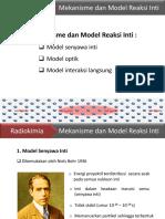 Bab VIII Mekanisme Dan Model Senyawa Inti