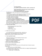 Method of Data Presentation