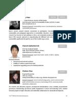 CV the 5th GPSS-GLI International Symposium