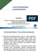 Regulasi Penomoran Telekomunikasi