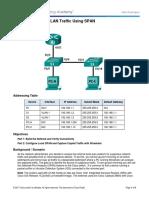 5.3.3.2 Lab - Troubleshoot LAN Traffic Using SPAN
