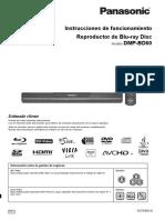 DMP-BD60 Manual de Operaciones