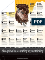 Cognitive Biases Poster A3