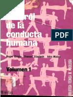La Modificación de Conducta en El Medio Industrial y El Publicitario