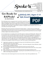 June 2005 Outspoke'n Newsletter, Cyclists of Greater Seattle