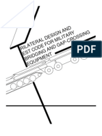 Trilateral Design and Test Code for Military Bridging and Gap-Crossing Equipment