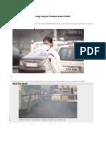 Air Pollution Levels in Delhi