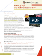 NDA073 New Psychoactive Substances (NPS)