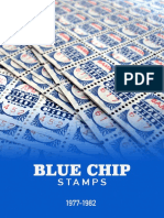 Munger and Buffet Investment in Blue Chip Stamps Case Study 77-82