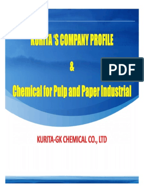 KGC_Company Profile Pulp and Paper | Water Purification