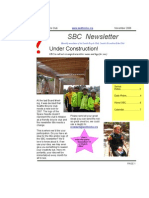 November 2006 SBC Newsletter, Cyclists of Greater Seattle