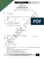 KVPY Paper Solution XII 30-10-11