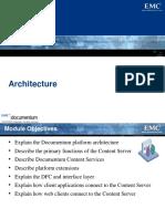 Corso Documentum Base - 5 Architecture