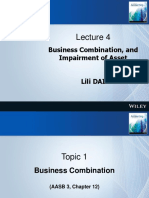 04. Business Combinations and Impairment