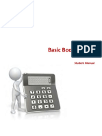Basic Bookkeeping Student Manual