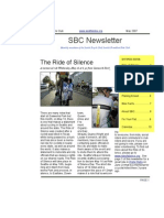 May 2007 Seattle Spin Newsletter, Cyclists of Greater Seattle