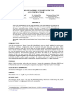 ANALYSIS OF BATTLES FOUGHT BETWEEN Hazrat Ali and Hazrat Muawiah.pdf