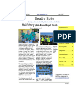 July 2007 Seattle Spin Newsletter, Cyclists of Greater Seattle