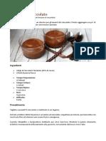 Mousse Al Cioccolato - Le Ricette Della Nonna_com