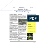 June 2008 Seattle Spin Newsletter, Cyclists of Greater Seattle