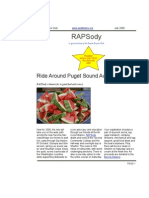 July 2008 RAP Sody Newsletter, Cyclists of Greater Seattle