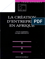 Creation Entreprise Afrique