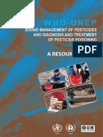 IPCS guideline Pesticide