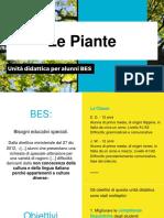 Le Piante - Unità Didattica Per BES A1-A2