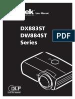 Projector Manual 9087