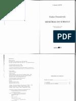 memórias do subsolo  + Dostoievski.pdf