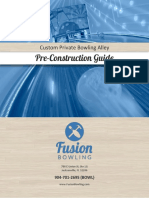 Fusion Bowling Pre Construction Guide