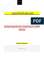 Easiest Guide for Creating a LAMP Server