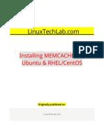 Installing MEMCACHED in Ubuntu & RHEL CentOS